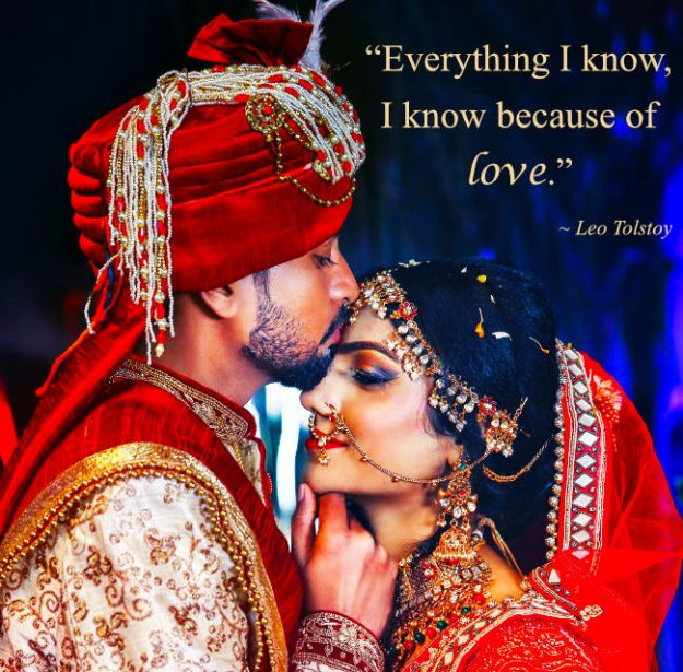 """""""Everything I know, I know because of love."""" Leo Tolstoy"""